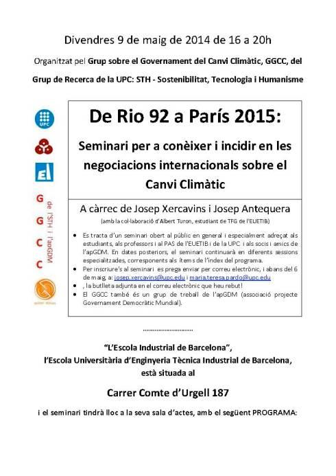 De Rio 92 a París 2015 - Seminari - 9 de maig de 16 a 20h a l'EUETIB - definitiu_Página_1